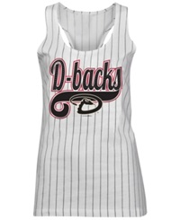 5Th And Ocean Women's Arizona Diamondbacks Opening Night Tank Top White