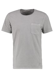 Abercrombie And Fitch Essential Basic Tshirt Grey Mottled Grey