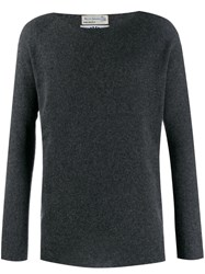 Junya Watanabe Man Long Sleeved Jumper Grey
