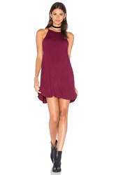 De Lacy Stella Dress Burgundy