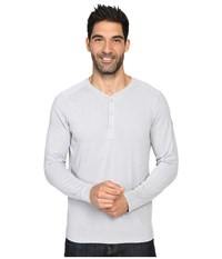 The North Face Long Sleeve Crag Henley Tnf Light Grey Heather Men's Clothing Gray