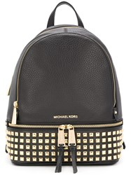 Michael Michael Kors Rhea Large Backpack Black