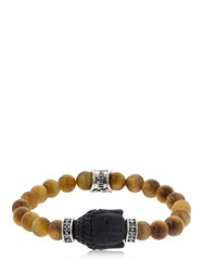 Cantini Mc Firenze Buddha Tiger's Eye Beaded Bracelet