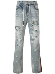 Mostly Heard Rarely Seen Dante Hybrid Jeans Blue