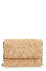 Sondra Roberts Cork Finish Crossbody Bag