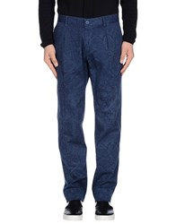 Authentic Original Vintage Style Trousers Casual Trousers Men Blue