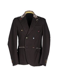 Roberto Pepe Blazers Dark Brown