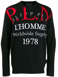 Philipp Plein Polo Style Jumper Black