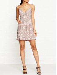 Needle And Thread Embroidered Embellished Prom Dress Nude