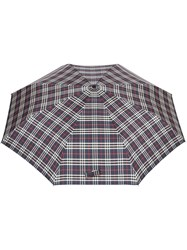 Burberry Classic Check Folding Umbrella Blue