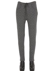 Transit Par Such Wool Blend Waffle Knit Pants