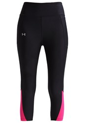 Under Armour Fly By 2.0 Tights Black Tropic Pink