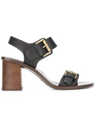 See By Chloe Romy City Sandals Black