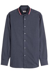 Brioni Cotton Shirt Grey
