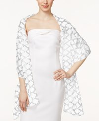 Collection Xiix Double Diamond Evening Wrap Ivory