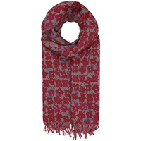 Seasalt Awakening Lizzie Cotton Scarf Bordeaux