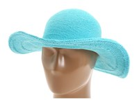 San Diego Hat Company Chl5 Floppy Sun Hat Aquamarine Knit Hats Blue