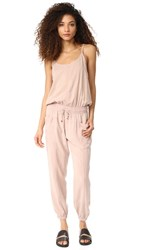 Young Fabulous And Broke Yfb Clothing Iver Jumpsuit Sand Rose