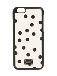 Dolce And Gabbana Pois Leather Iphone 7 Case