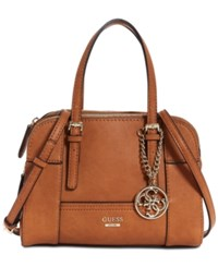 Guess Huntley Small Cali Satchel Cognac