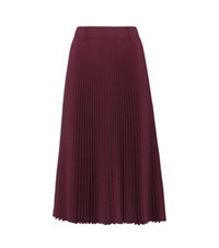 Prada Plisse Pleated Skirt Purple