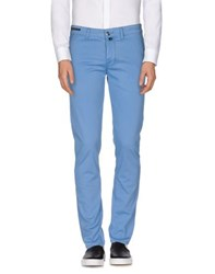 Pt05 Trousers Casual Trousers Men Pastel Blue