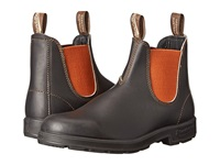 Blundstone Bl1435 Stout Brown Burnt Orange Work Boots Black