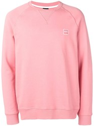 Hugo Boss French Terry Sweatshirt Pink