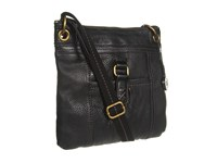 The Sak Kendra Leather Crossbody Black Cross Body Handbags
