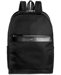 Hugo Boss Men's Digital Light Dome Backpack Blk