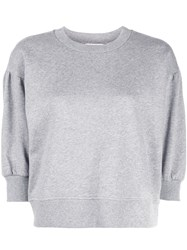 Opening Ceremony 3 4 Sleeves Sweatshirt Grey