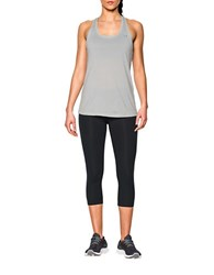 Under Armour Heathered Twist Tech Tank Top Grey