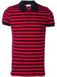 Saint Laurent Classic Polo Shirt Red
