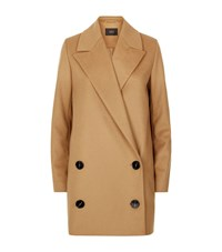 Set Oversized Peak Lapel Coat Female