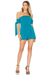 C Meo Collective Charged Up Playsuit Teal