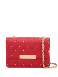 Designinverso Quilted Shoulder Bag Red