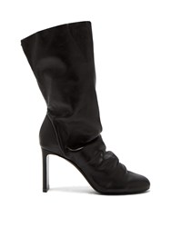 Nicholas Kirkwood D'arcy Nappa Leather Ankle Boots Black