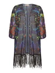 Label Lab Joseph Kaleidoscope Kimono Multi Coloured