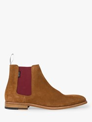 Paul Smith Ps Gerald Suede Chelsea Boots Tan