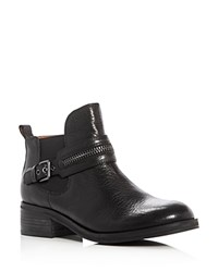 Gentle Souls Penny Mid Heel Booties Black