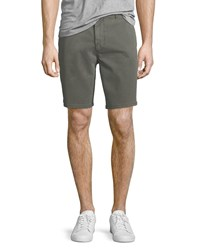 Joe's Jeans Flat Front Twill Casual Shorts Gray
