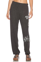 Lauren Moshi Nyc Girl Tanzy Sweatpant Charcoal