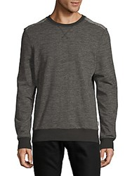 2Xist Heathered Crewneck Sweatshirt Charcoal