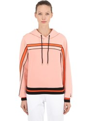 P.E Nation The Terrain Sweatshirt Hoodie Salmon Pink