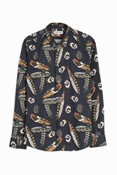 Paul And Joe Feather Print Shirt Multi