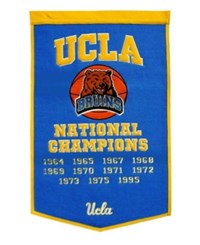 Winning Streak Ucla Bruins Dynasty Banner Team Color