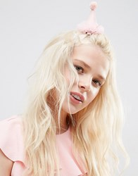 Asos Limited Edition Hen Party Hair Clip Pink