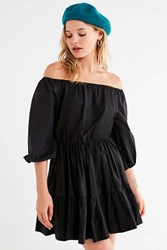Stylekeepers Off Limits Off The Shoulder Tiered Dress Black