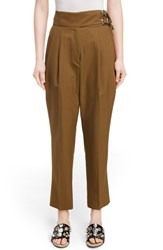 Toga Women's Pleated Front Ankle Pants