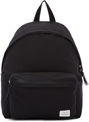 Rag And Bone Black Canvas Standard Backpack